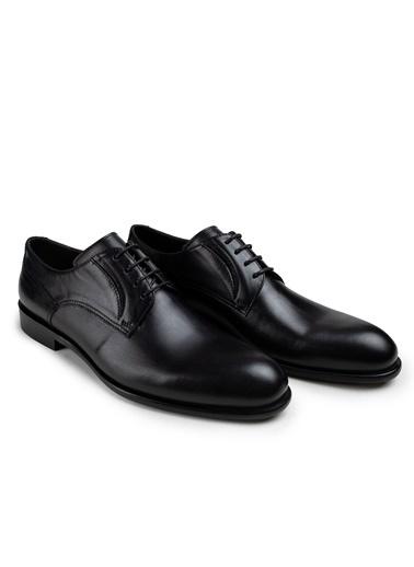 Deery Deery Doğal Dana Derisi Neolit Tabanlı Klasik Erkek Ayakkabı Siyah